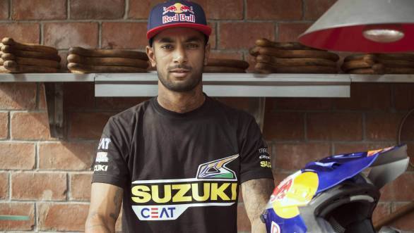 CS Santosh is all set for his second attempt at the Dakar Rally, this time astride a Suzuki 450 Rally
