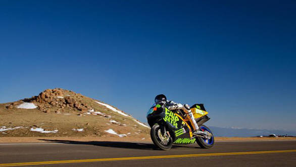 Sportsbikes banned at Pikes Peak