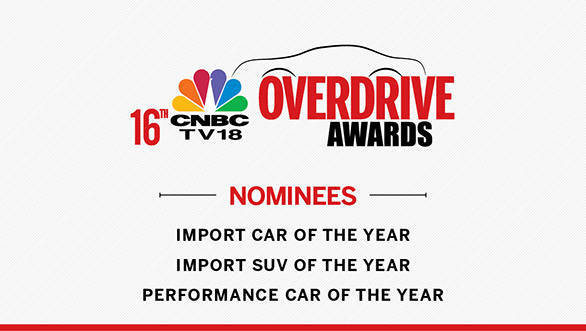 CNBC-TV18 Overdrive Awards 2016: Categories for imported vehicles