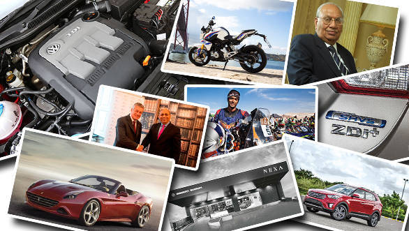 15 automotive highlights in India from 2015