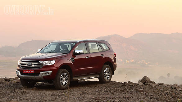 The 2016 Ford Endeavour wears a more modern design that trades in the boxy form for a sleeker and curvaceous one.