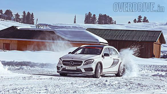 GLA Winter drive