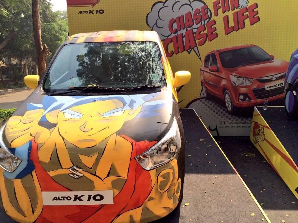 Maruti Suzuki Alto K Powers Fifth Mumbai Comic Con Overdrive - Graphics for alto car