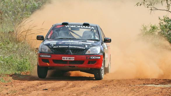 Rahul Kanthraj took home the title in the IRC 2000 class
