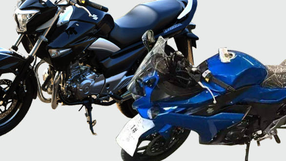 Spy shot: Is that really the India-bound Suzuki Gixxer 250?