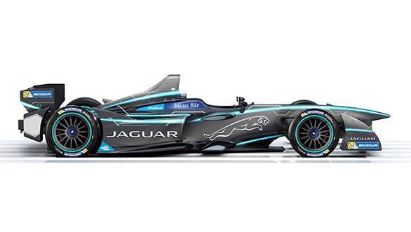 Jaguar FIA Formula E Race Car (1)