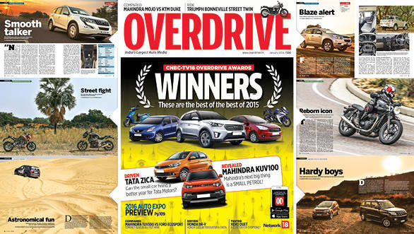 January 2016 issue of OVERDRIVE on stands now