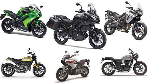 Spec comparo: Versys 650 vs Ninja 650 vs Tiger XR vs TNT 600GT vs Scrambler Icon vs Bonneville Street Twin