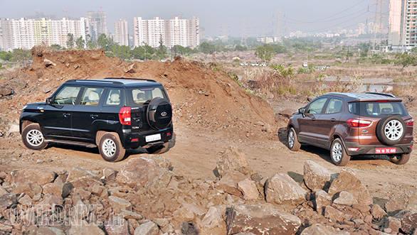 Mahindra TUV vs Ford Ecosport (1)