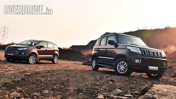 Exclusive Comparo: 2016 Ford EcoSport Vs Mahindra TUV300