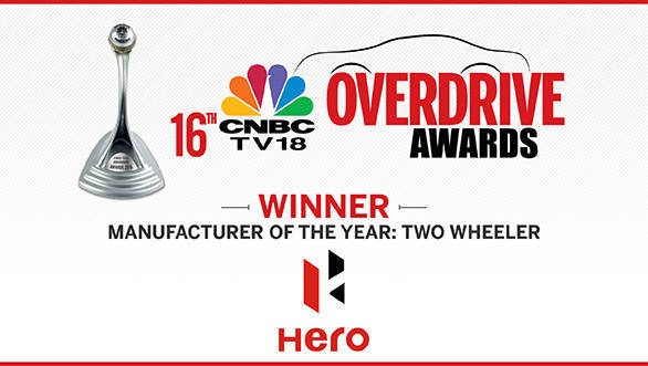Manufacturer of the Year two-Wheeler