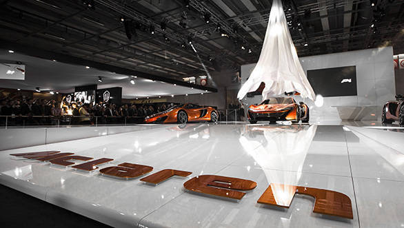 McLaren P1 reveal