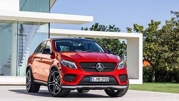 Mercedes Benz GLE 450 AMG front