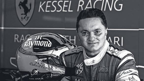 2015 Ferrari Challenge:  Gautam Singhania, India's gentleman racer