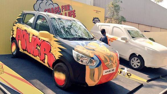 Maruti Suzuki Alto K10 powers fifth Mumbai Comic Con