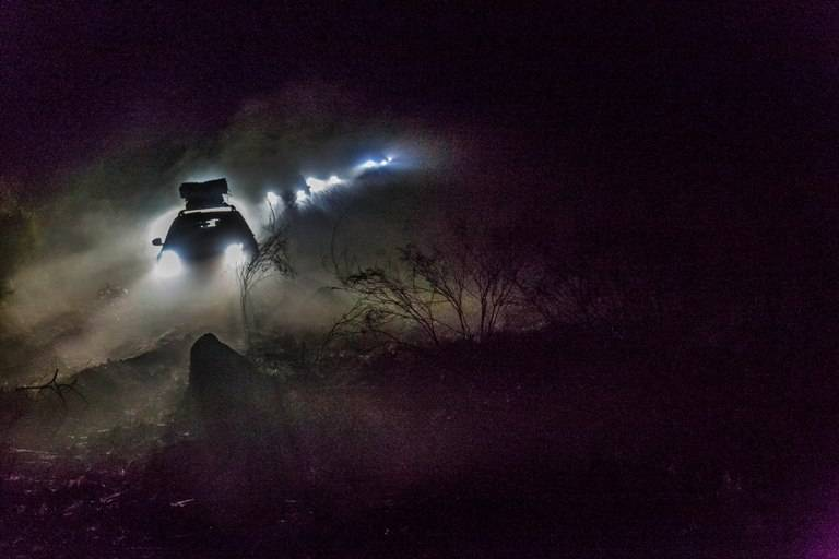 Night driving was tough and many got lost too wherever the GPS mapping was off the mark.