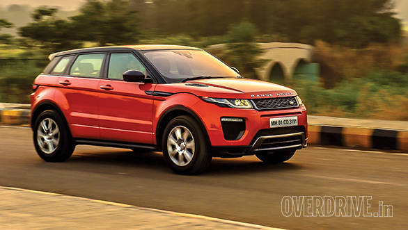 2016 range rover evoque facelift first drive overdrive. Black Bedroom Furniture Sets. Home Design Ideas