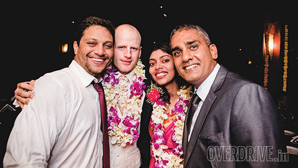Congratulations Vaishali and Ronny! Bert and Shumi's suits would like to thank you for the outing