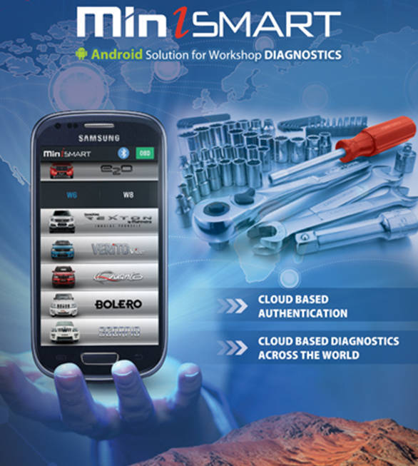 Mahindra launches miniSMART mobile app to manage workshop