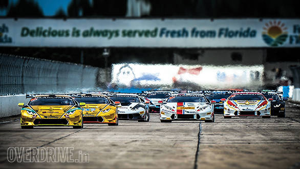 Following team Dilango Racing at the 2015 Lamborghini Super Trofeo World Final