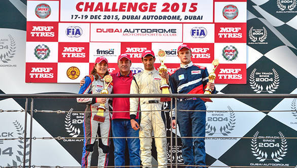 Tarunv Reddy wins MRF