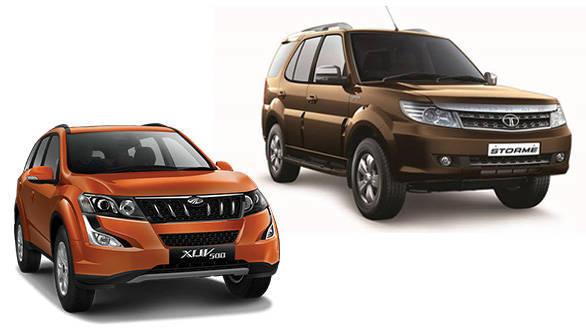Tata Safari Storme VX vs 2015 Mahindra XUV500