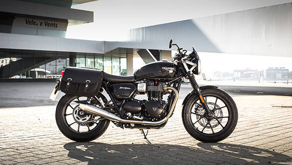 Triumph Street Twin with the Urban Inspiration Kit