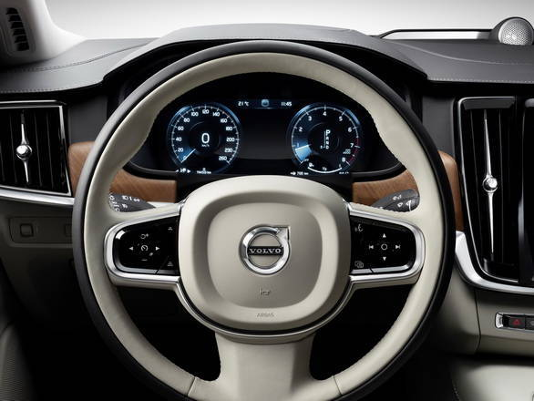 All digital instrument cluster looks inspired by the XC90 SUV