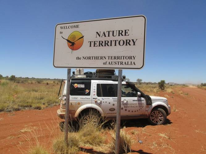 We spent a lot of time in the Northern Territory