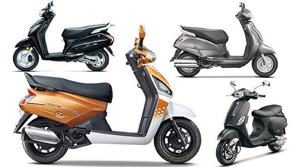 Spec Comparo: Mahindra Gusto 125 vs Suzuki Access vs Honda Activa 125 vs Piaggio Vespa 125 SXL