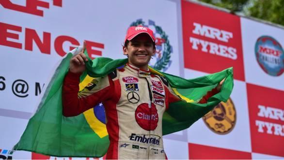 MRF Challenge 2015: Pietro Fittipaldi bags championship title
