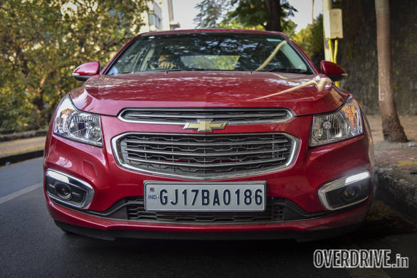 Exclusive 2016 Chevrolet Cruze facelift road test review India
