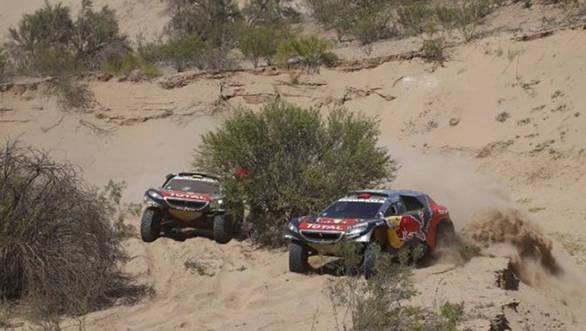 2016 Dakar carlos sainz Stage 9