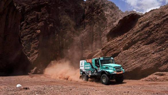 2016 Dakar gerard de rooy Stage 9