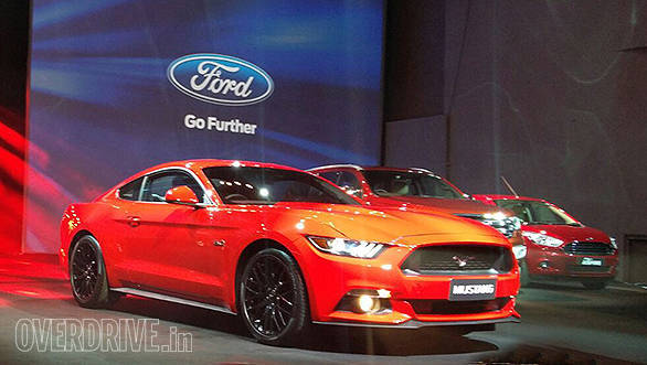 India-bound Ford Mustang V8 makes less power than equivalent UK and US models