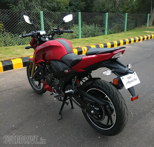 Image Gallery Tvs Apache Rtr 200 4v Overdrive