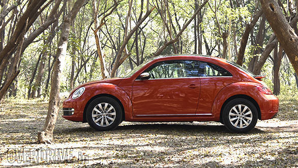 The Beetle looks small and compact but is as long as a Hyundai Creta and wider than a Volkswagen Jetta