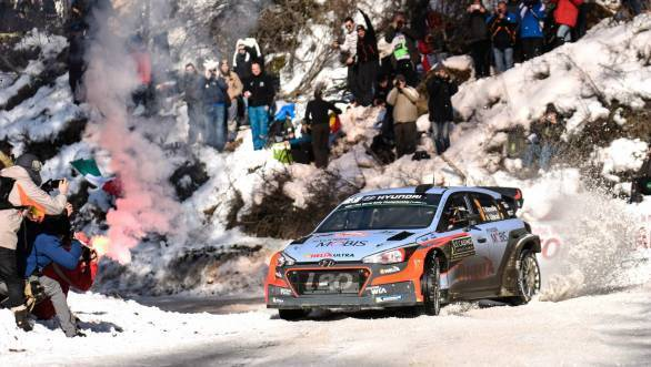 Thierry Neuville did well to score his first podium of the season, an indicator of the Hyundai driver's new found confidence