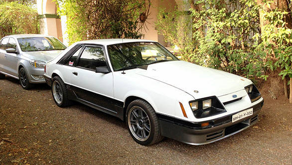 Neville Poonawalas 1988 Mustang V8