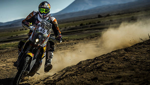 Antoine Meo, four-time enduro world champion, on his KTM 450