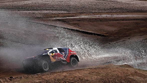Stephane Peterhansel (FRA) from Team Peugeot-Total races during stage 07 of Rally Dakar 2016 from Uyuni, Bolivia to Salta, Argentina on January 9, 2016 // DPPI / Red Bull Content Pool  // P-20160111-00114 // Usage for editorial use only // Please go to www.redbullcontentpool.com for further information. //