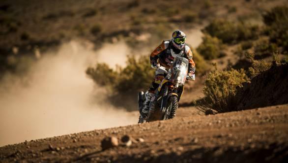 Dakar 2016 Stage 7 Antoine Meo KTM