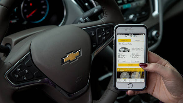 GM unveils its new car sharing service named Maven