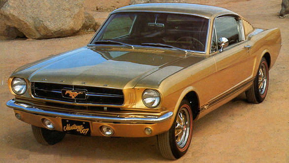Goldfinger Mustang