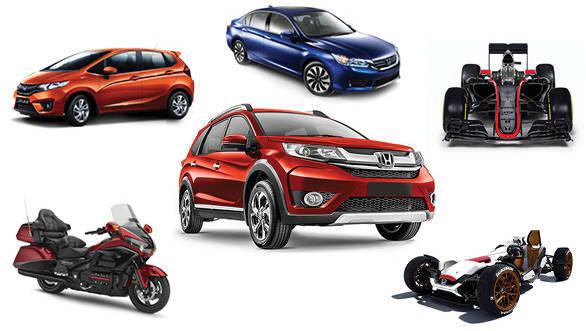2016 Auto Expo: Honda to showcase BR-V, new Accord and Jazz racing prototype