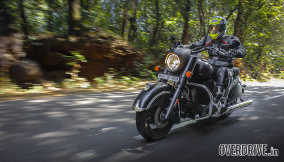 Indian Chief Dark Horse road test review