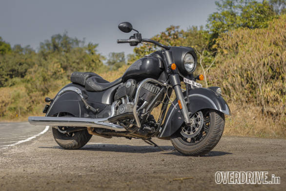Indian Chief Dark Horse road test review Overdrive