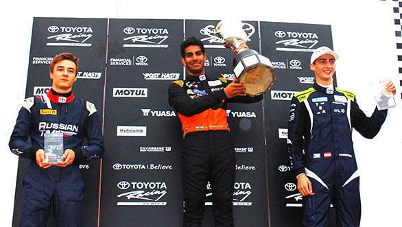 Jehan Daruvala Toyota Formula Racing Series  (2)