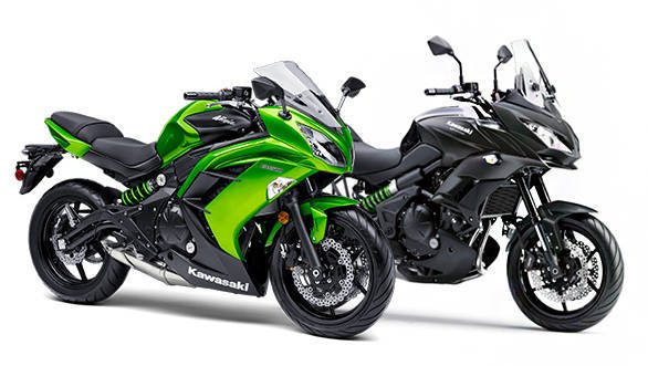 Kawasaki Ninja and Versys 650