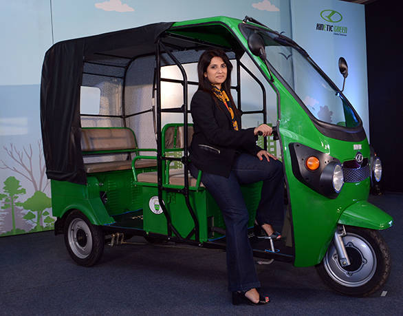 Kinetic Safar Electric Auto